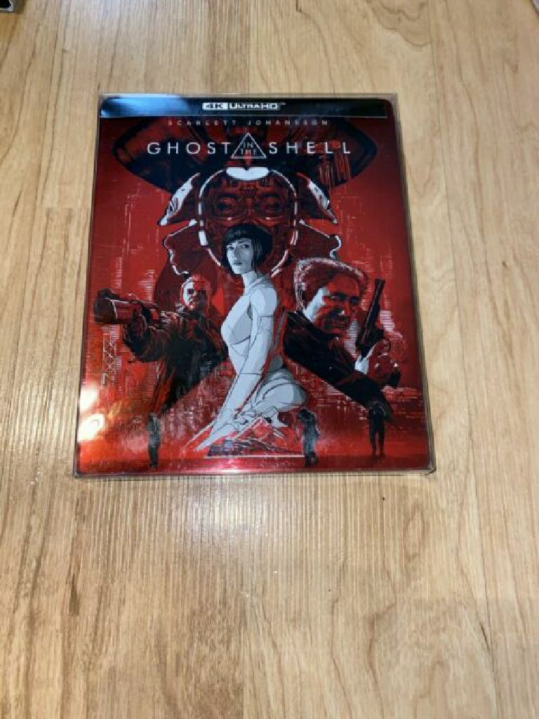 Ghost In The Shell 4k Steelbook -  cover