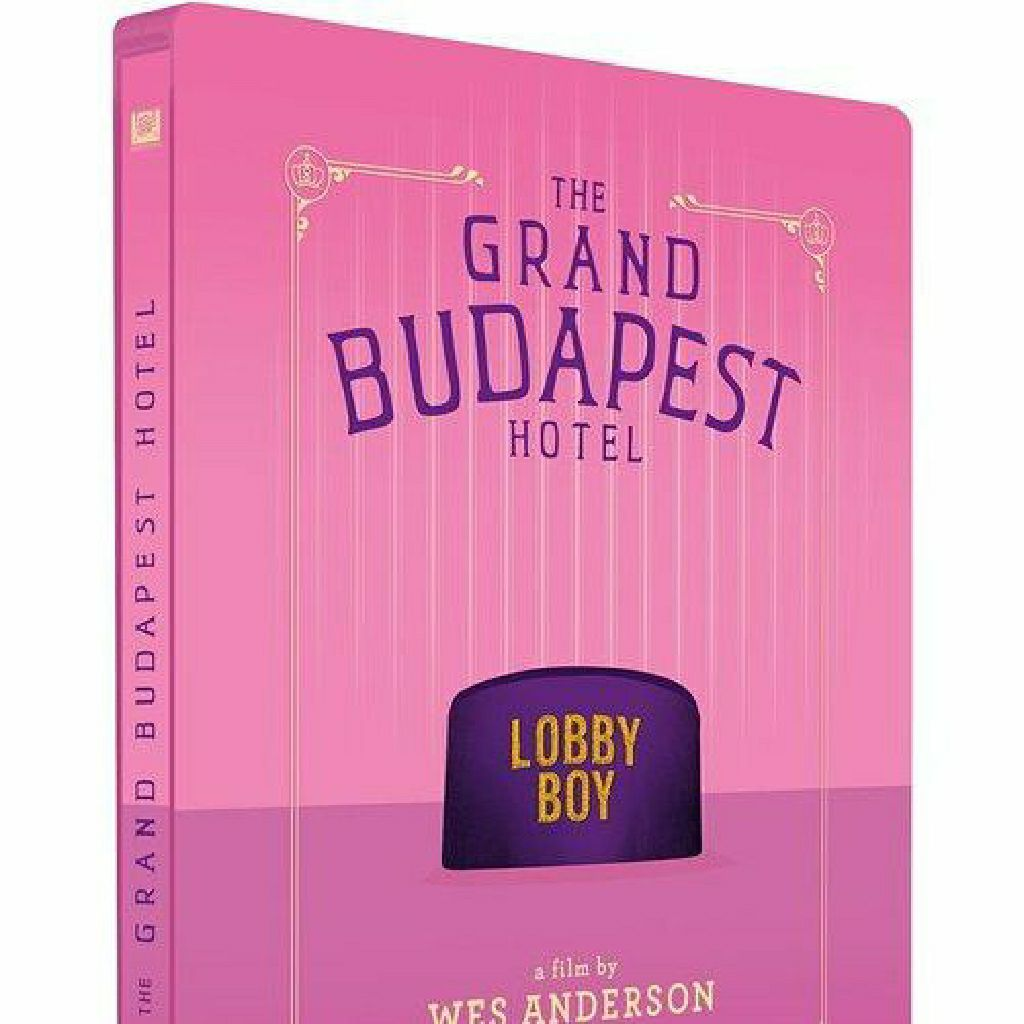 The Grand Budapest Steelbook -  cover