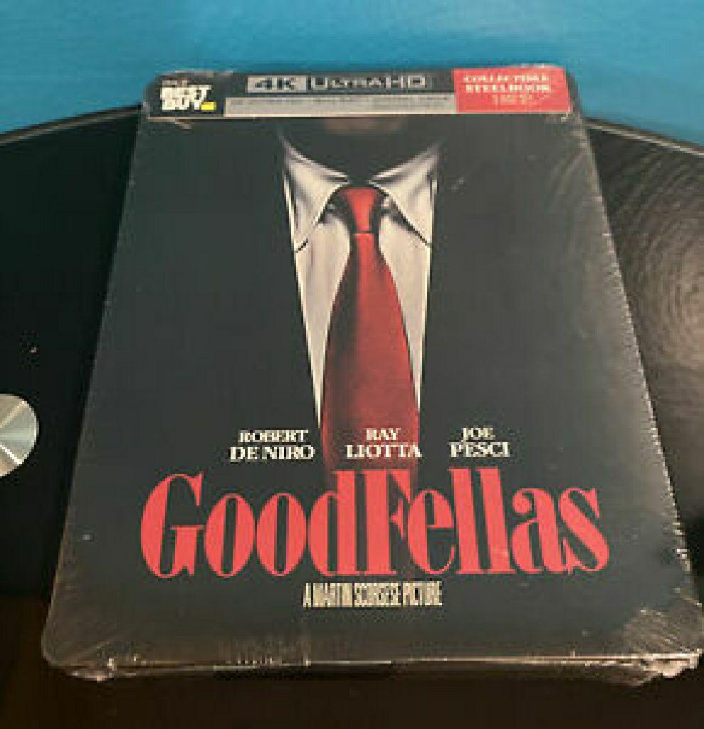 Goodfellas  4k Steelbook -  cover