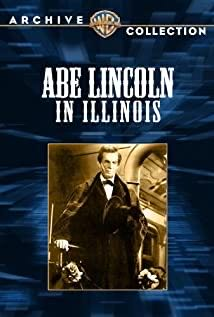 Abe Lincoln in Illinois -  cover