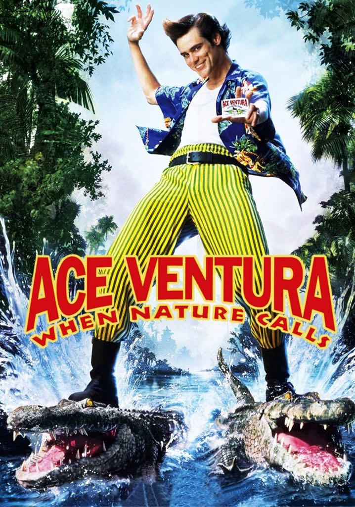 Ace Ventura:  When Nature Calls -  cover