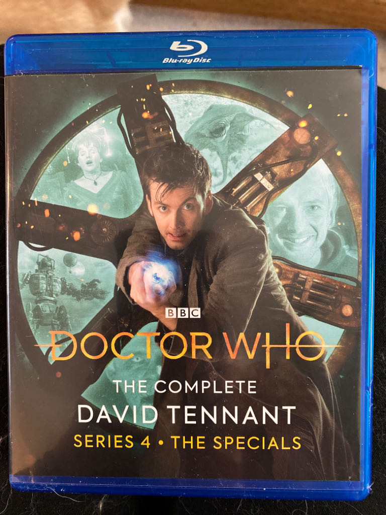 Doctor Who The Complete David Tennant Series 4 -  cover