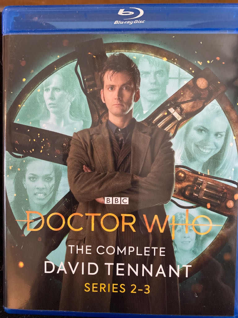 Doctor Who. The Complete David Tennant Series 2-3 -  cover