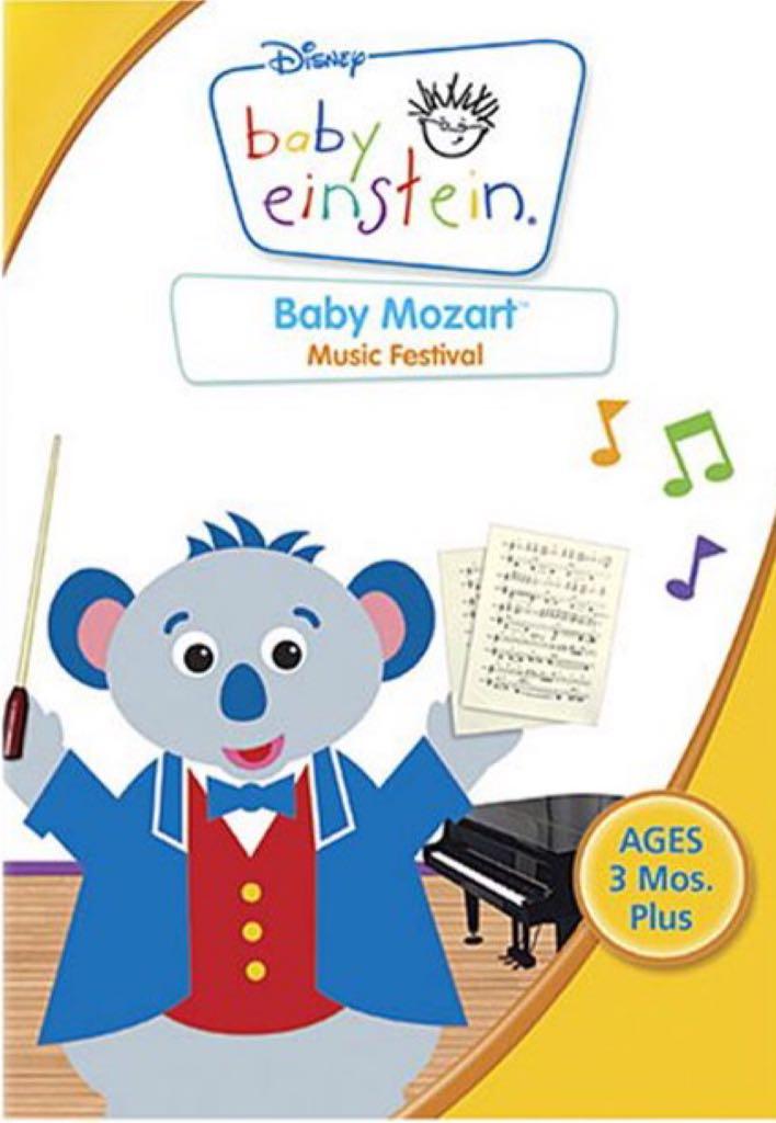 Baby Einstein: Baby Mozart - Music Festival -  cover