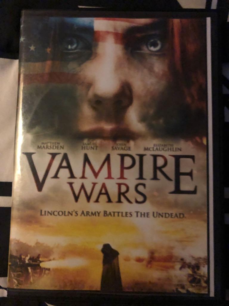 Vampire Wars -  cover
