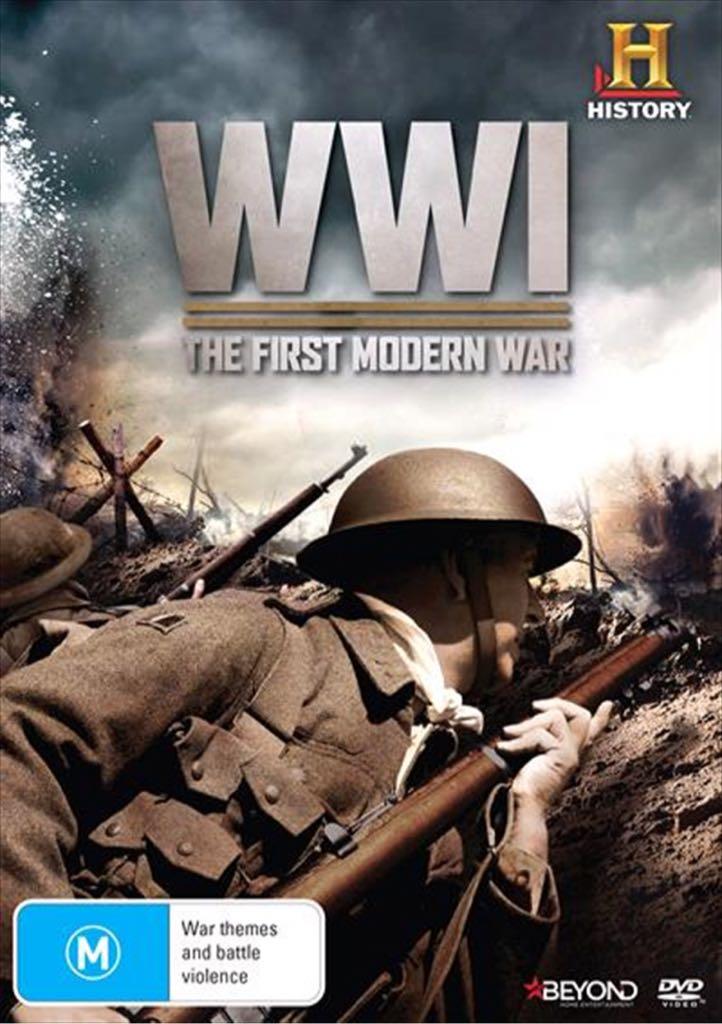 WW1 First Modern War -  cover