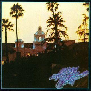 Hotel California, Eagles - CD cover