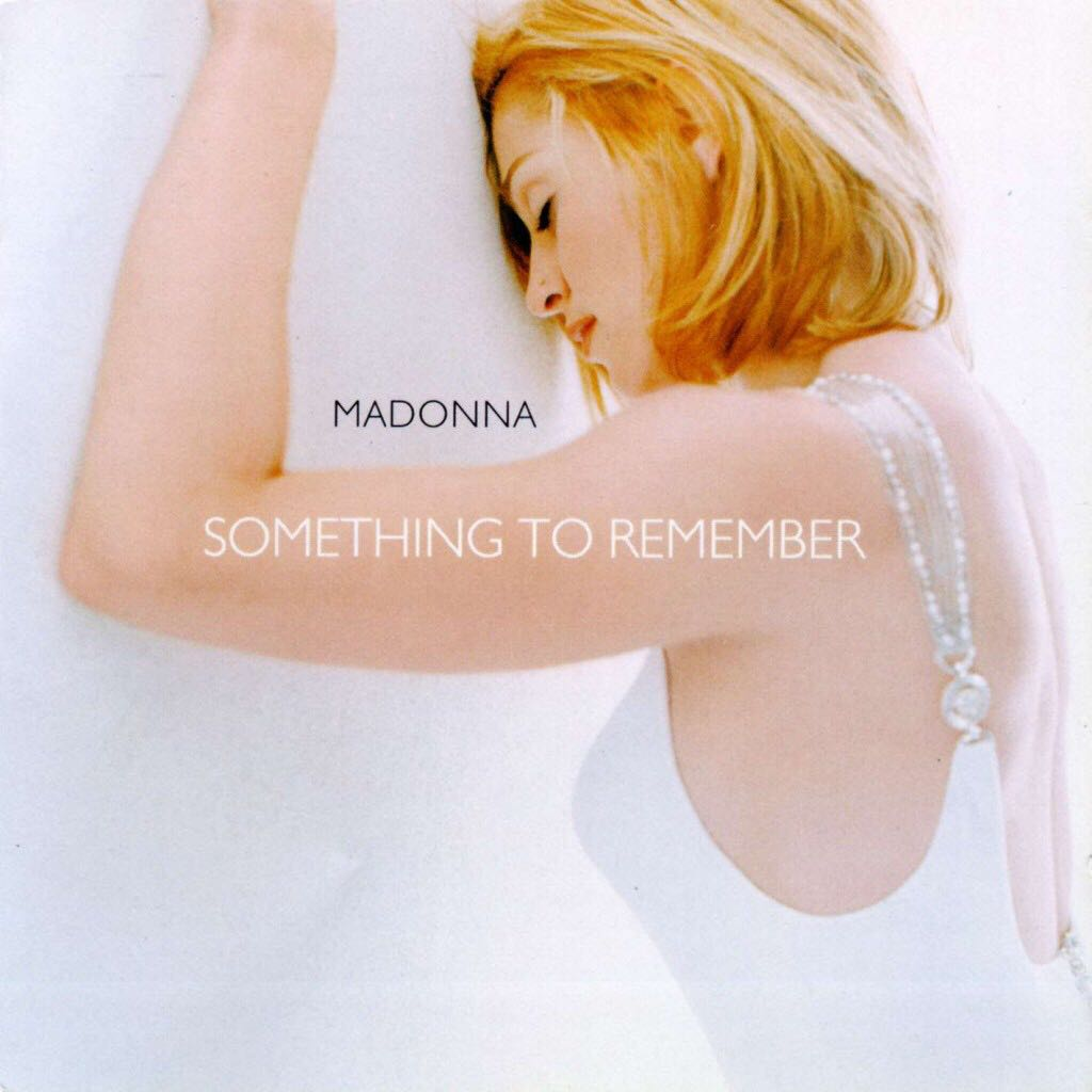 Something To Remember - CD cover