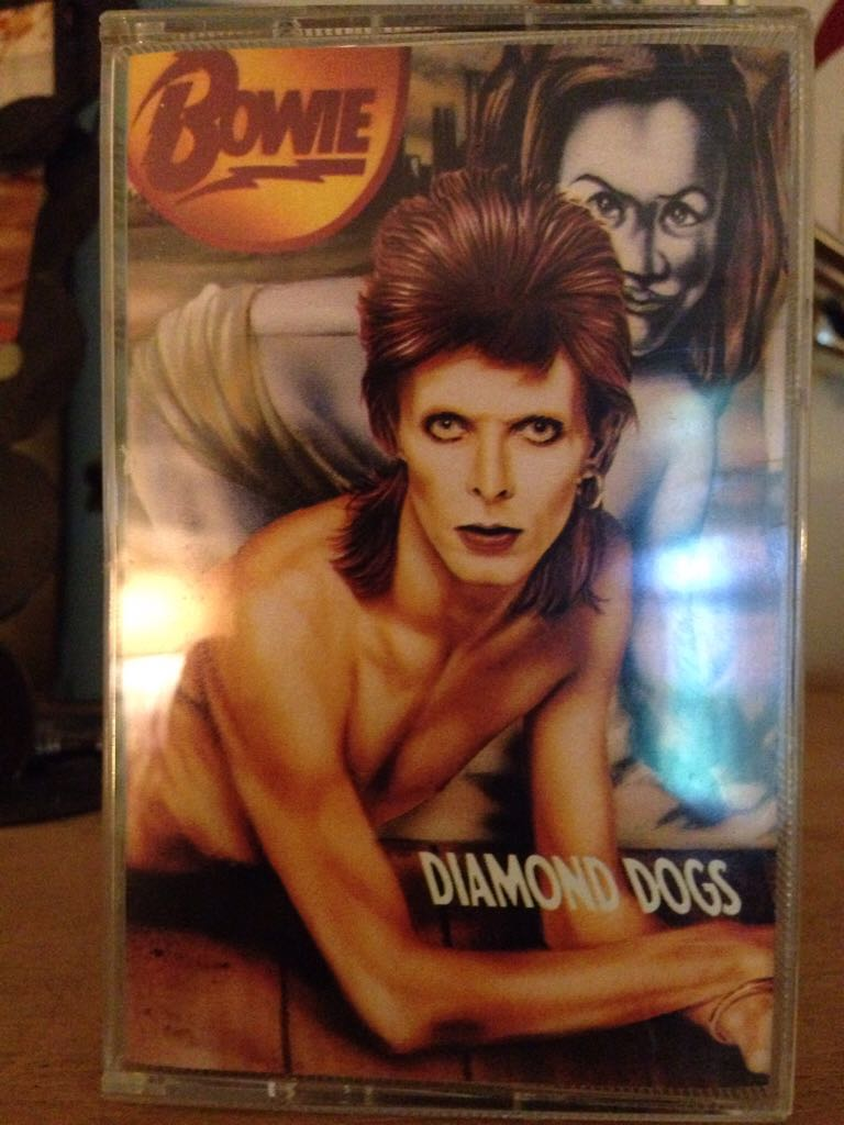Diamond Dogs - Cassette cover