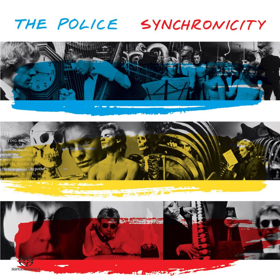 Synchronicity - CD cover