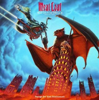 Bat Out Of Hell II: Back Into Hell - CD cover