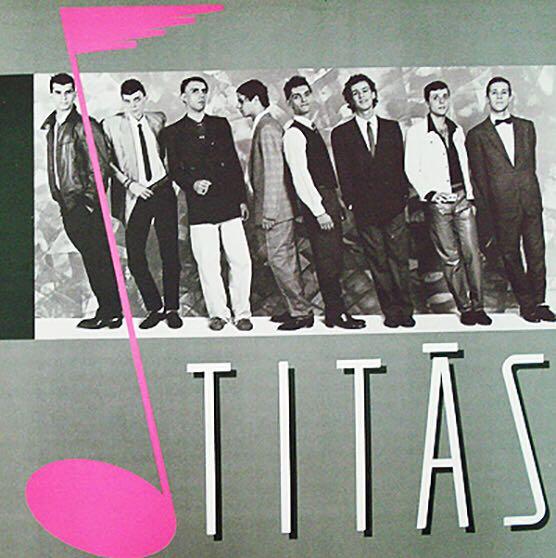 Titās - CD cover