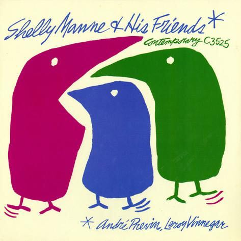 Shelly Manne & His Friends Volume 1 - CD cover