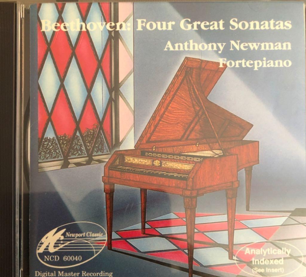 Beethoven - Forte piano Sonatas Op. 27 No 2, Op. 57 No 1, Op. 13 No 1, Op. 53 - CD cover