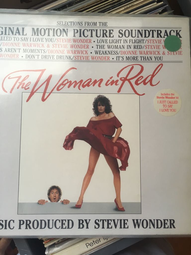 The Woman In Red -  cover