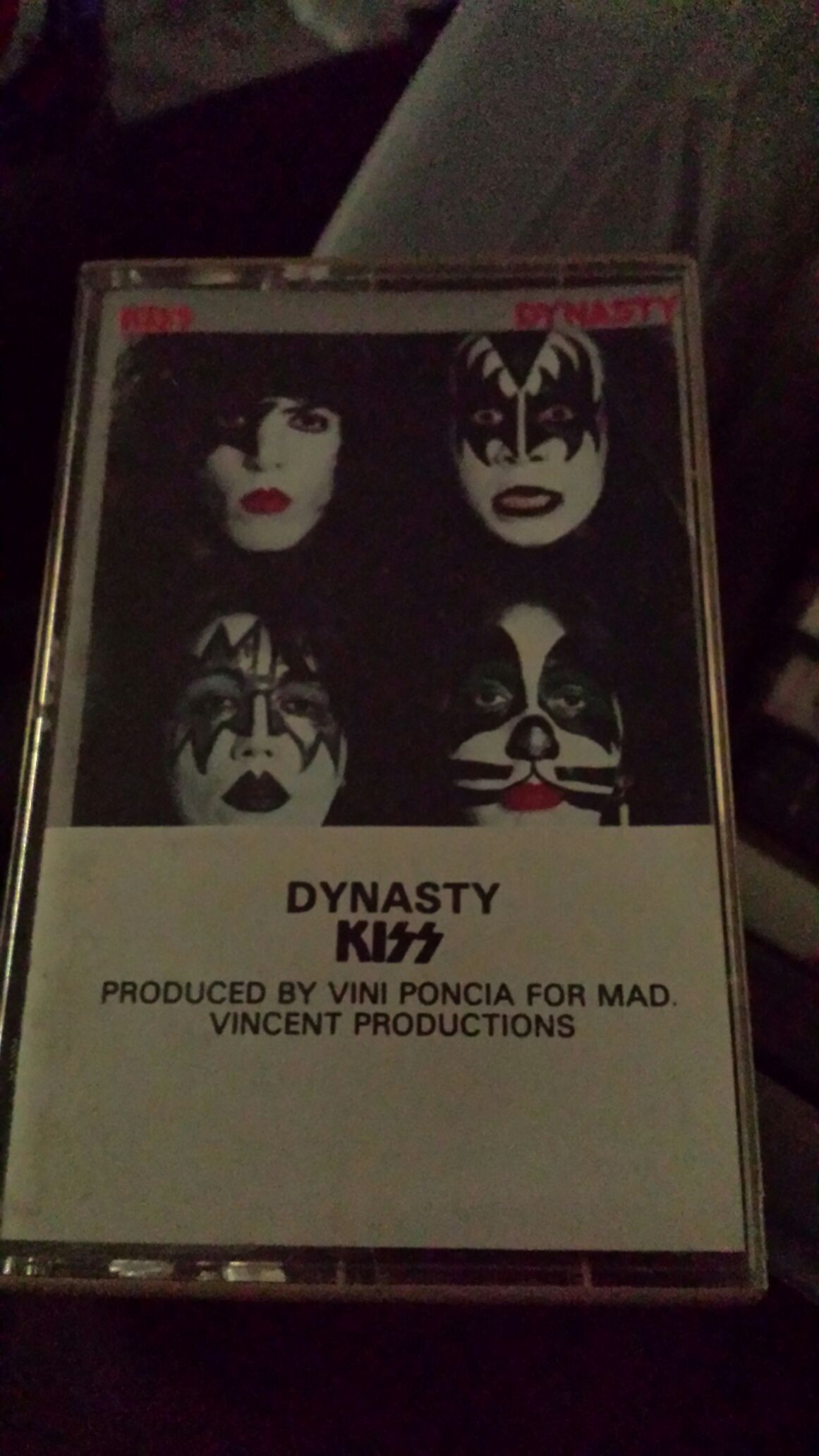 Dynasty - Cassette cover