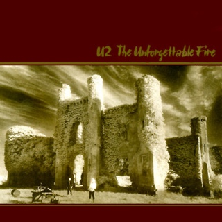 The Unforgettable Fire - CD cover