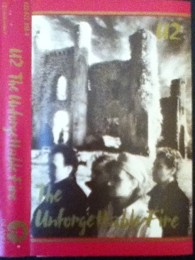 The Unforgettable Fire - Cassette cover
