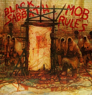 Mob Rules - CD cover