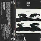 Boy - Cassette cover