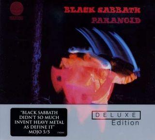 Paranoid - DVD-A cover