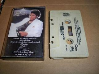Thriller - Cassette cover