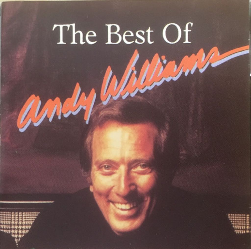 Andy Williams The Best Of - CD cover