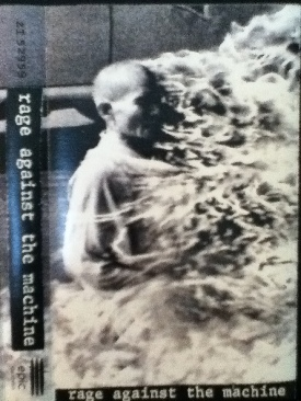 Rage Against The Machine - Cassette cover