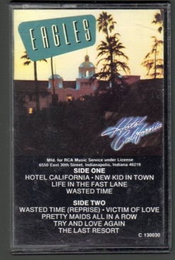 Hotel California - Cassette cover