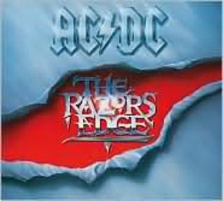 The Razors Edge - Cassette cover