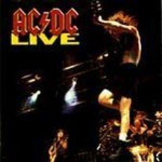 AC/DC Live - CD cover