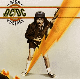 4 - High Voltage - CD cover