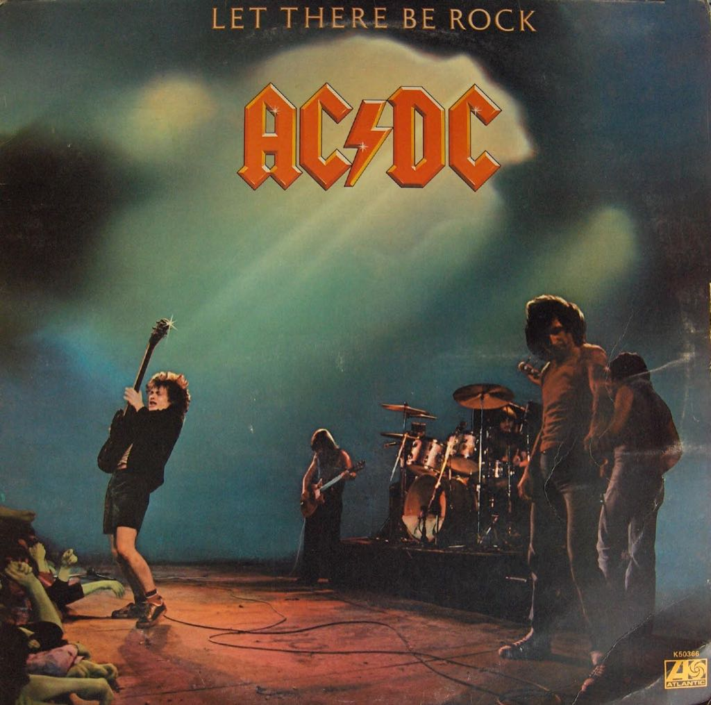 Let There Be Rock - Cassette cover