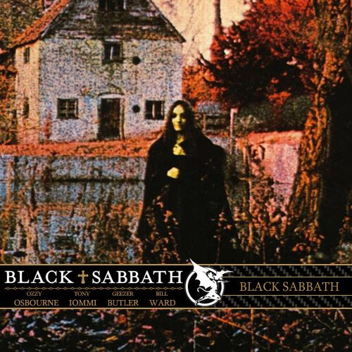 Black Sabbath - Cassette cover
