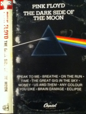 The Dark Side Of The Moon - Cassette cover