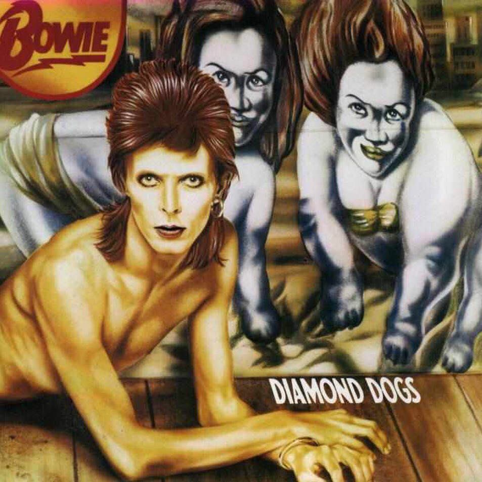 Diamond Dogs -  cover