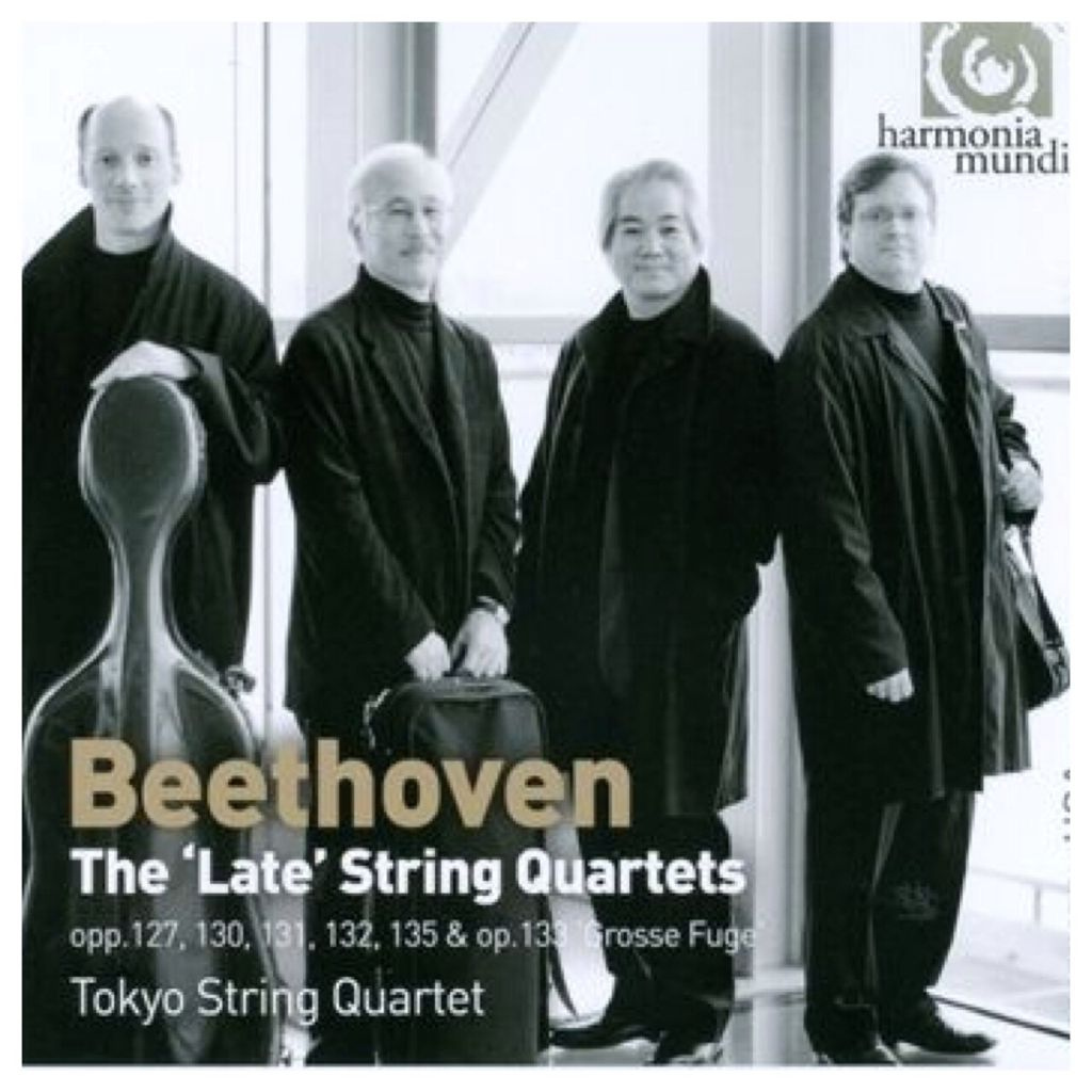 Beethoven - The Late String Quartets - CD cover