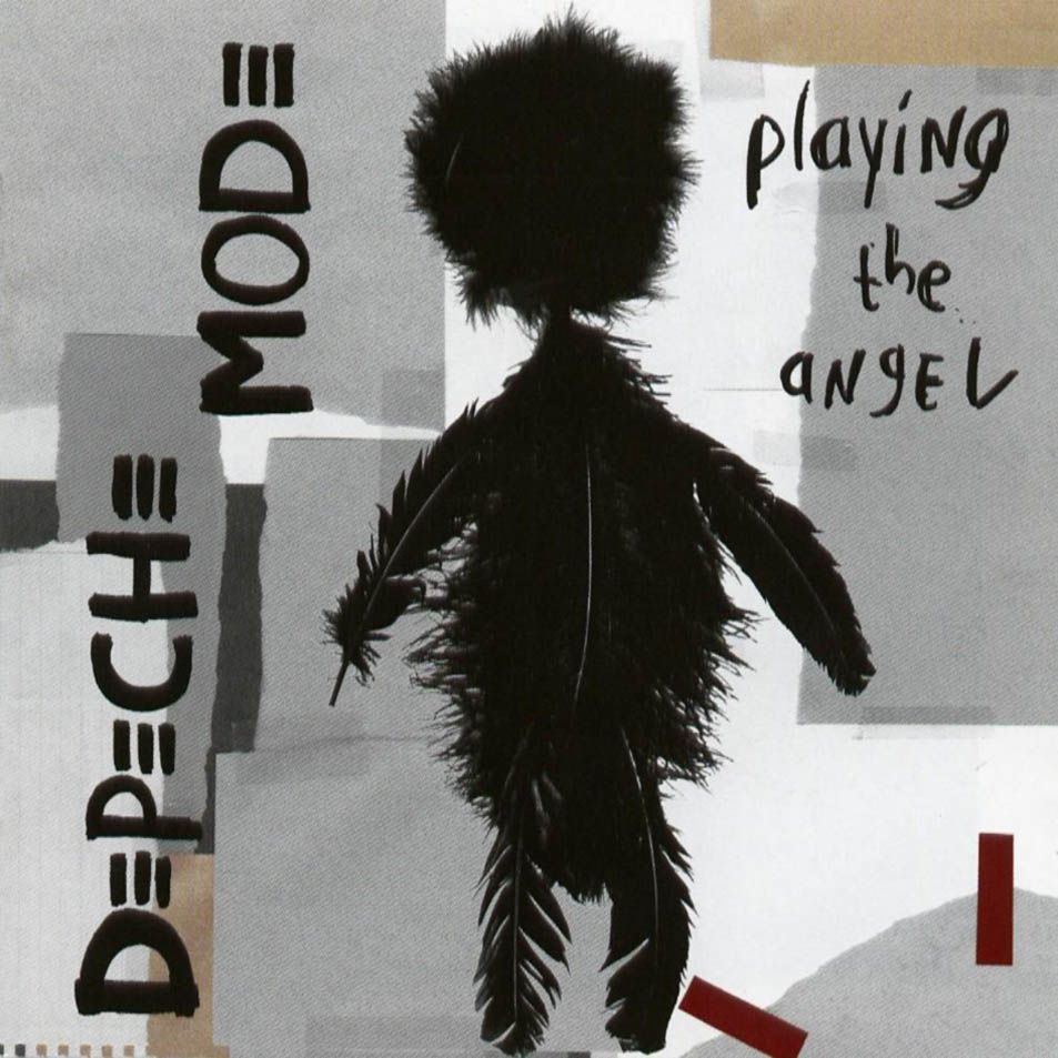 Playing The Angel - CD cover