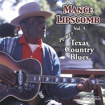 Texas Country Blues - CD cover