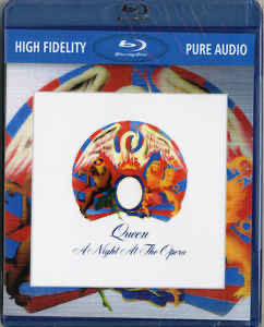 A Night At The Opera - Blu-ray Audio (BD-A) cover