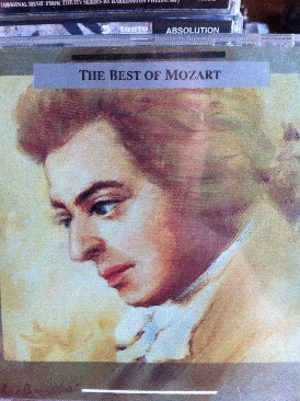 The Best Of Mozart - CD cover