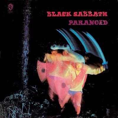 Paranoid - SACD cover