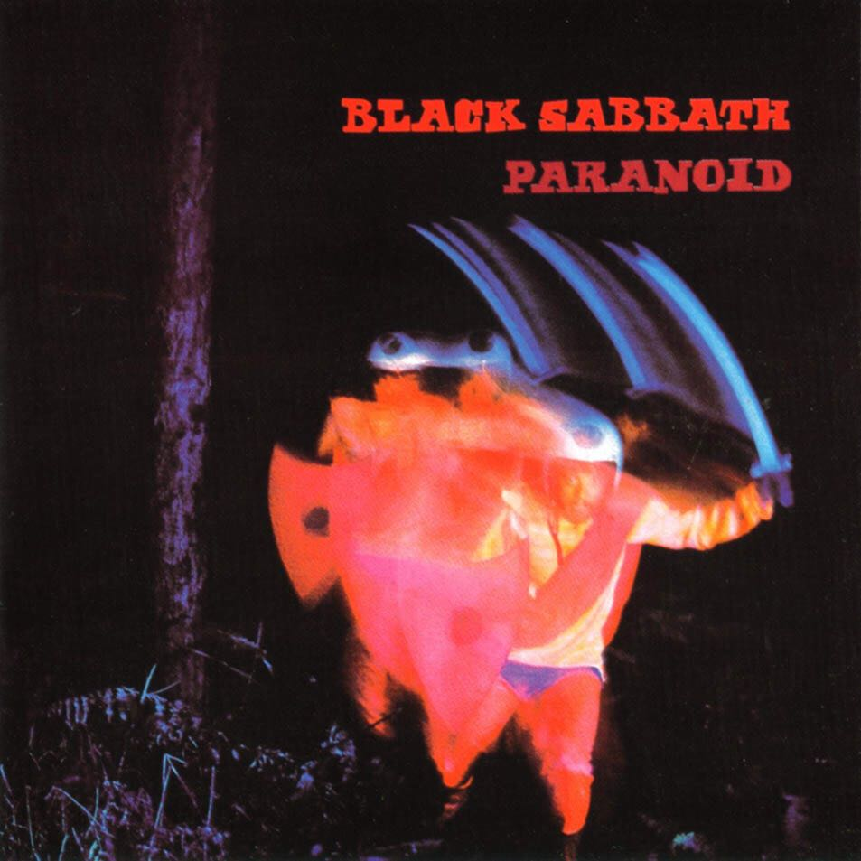 02.Paranoid - CD cover