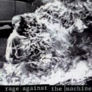 Rage Against The Machine - CD cover