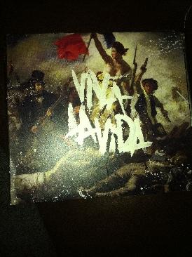 Viva La Vida - CD cover