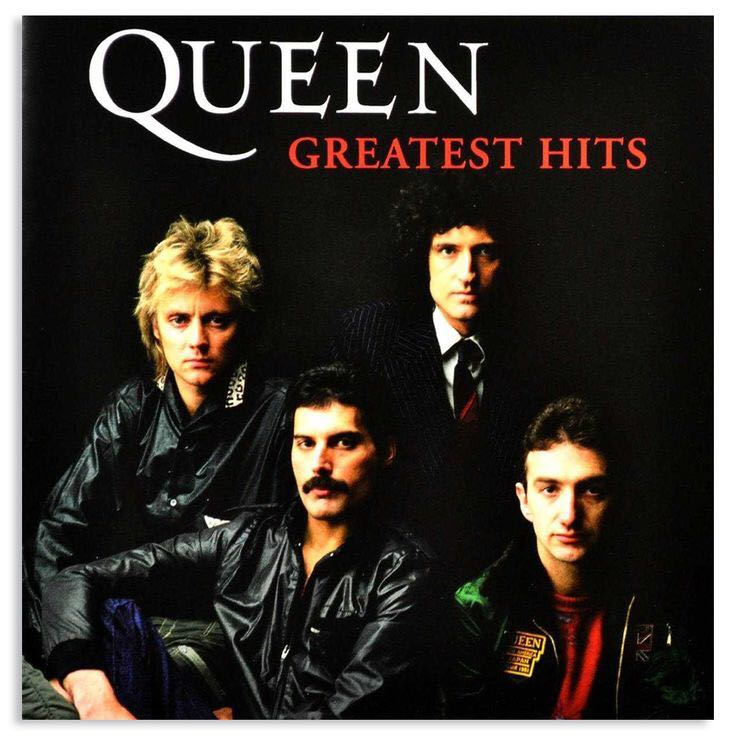 Greatest Hits, Queen - CD cover