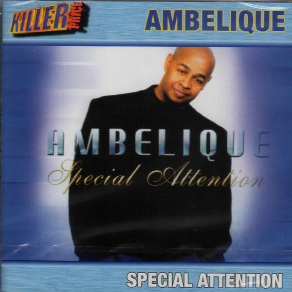 Special Attention by Ambelique - CD cover