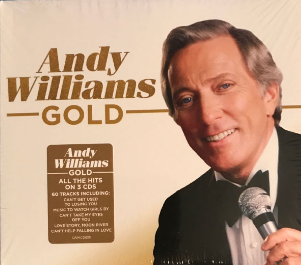 Andy Williams - Gold - CD cover