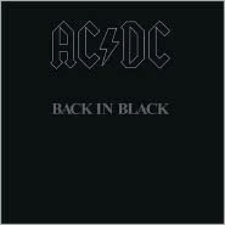 Back In Black (Remastered) - CD cover