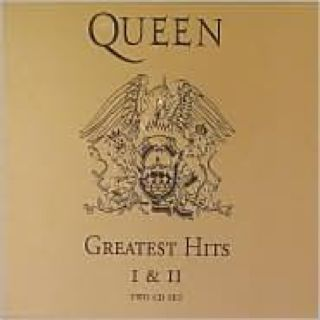 Queen Greatest Hits I and II - CD cover